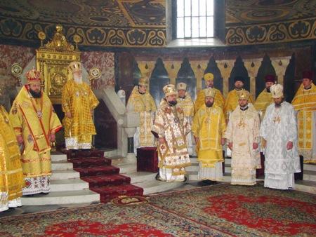 Перша архієрейська хіротонія єпископа Марка