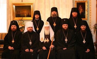 Єписокпат, що брав участь у хіротонії єпископа Кіровоградського Марка